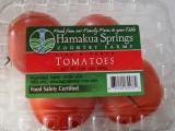 Hamakua Springs tomatoes grown in Hilo, Hawaii