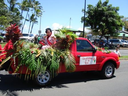 Merrie Monarch Parade Grandmother Hilo 2008