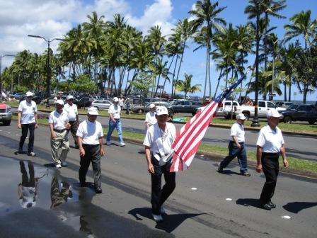 War vets Merrie Monarch Parade Hilo 2008
