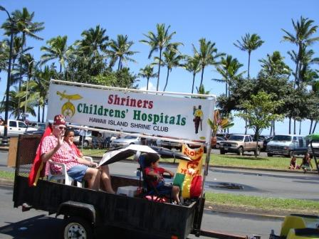 Merrie Monarch Parade Shriners Hilo 2008