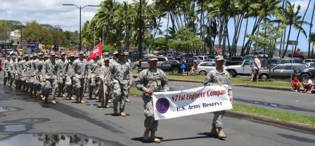 871 Engineer corp Merrie Monarch Parade Hilo 2008