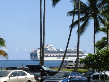 ship in Hilo Bay